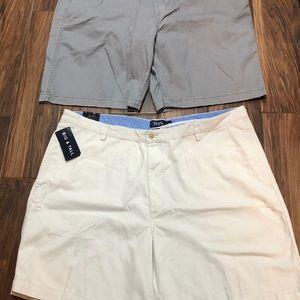 2 Pair Men's Shorts New!